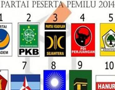 Parpol-peserta-Pemilu-2014