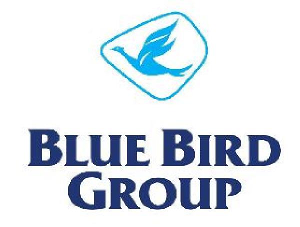 blue bird taxi logo
