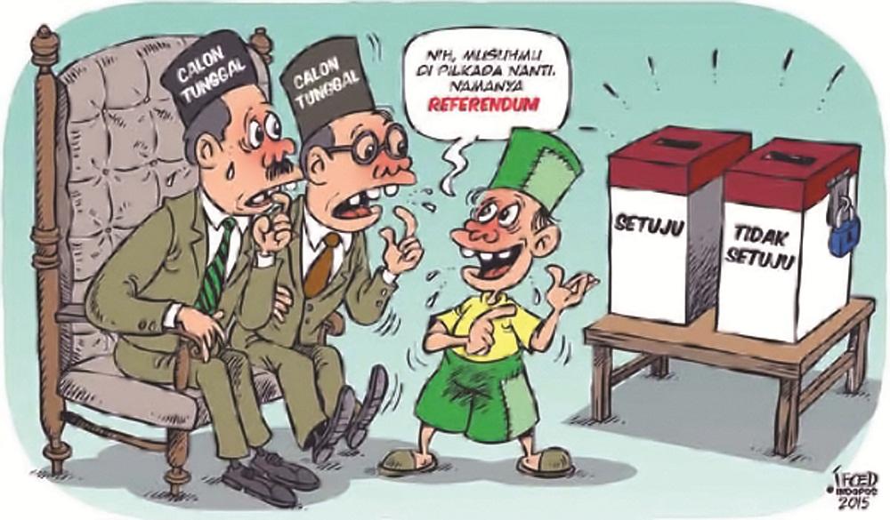 Karikatur Pilkada