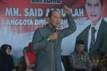 Anggota DPR, Said Abdullah saat reses di Dapil Jatim XI