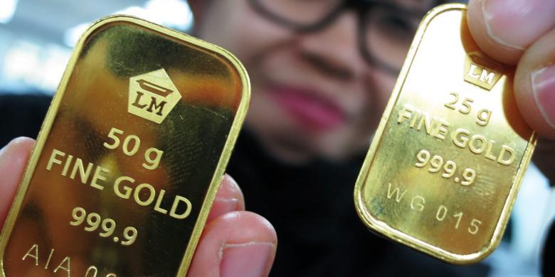Antam Penjualan Emas Naik 14 Berita Moneter Dan Keuangan