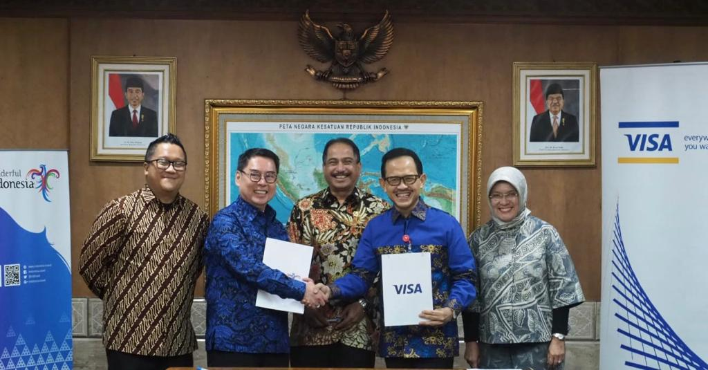 Kemenpar Gandeng Visa Promosikan Wonderful Indonesia